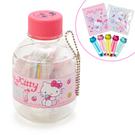 【震撼精品百貨】Hello Kitty 凱蒂貓~三麗鷗 KITTY 寶特瓶造型文件組-下午茶#70695