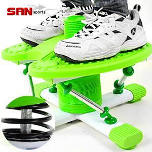 【SAN SPORTS】瘋狂跳舞踏步機(結合跳繩.扭腰盤.踏步機.呼拉圈)跑步機美腿機.跳舞機哪裡買