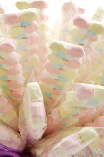 蝶戀8顆棉花糖(二次進場,謝客禮,婚禮小物)-滿50支送包裝~~~