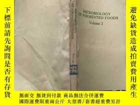二手書博民逛書店Microbiology罕見of Fermented Food