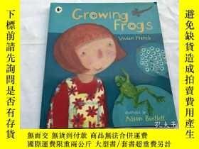 二手書博民逛書店Growing罕見FrogsY8204 Vivian Illustrations ISBN:978140631