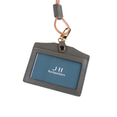 J II 粗礦牛皮橫式雙卡證件套-2102-2