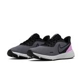 NIKE系列-REVOLUTION 5 女款女款黑灰粉運動慢跑鞋-NO.BQ3207004