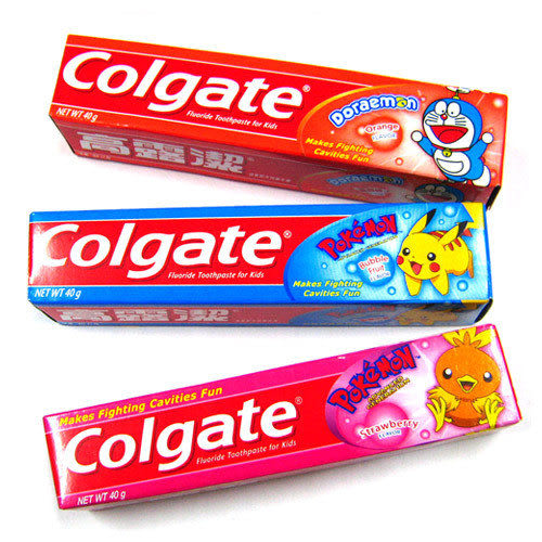 【奇買親子購物網】高露潔 兒童牙膏40G(水果/草莓/橘子口味)