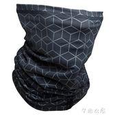 防曬騎行反光男脖套夏季圍脖運動面罩女面巾魔術頭巾RBTWIN      芊惠衣屋