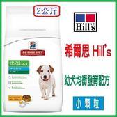 [寵飛天商城] 狗飼料 希爾斯幼犬均衡發育配方 小顆粒-2KG   (2包可超取)