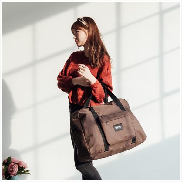 旅行袋-原創RABBIT TWO自訂KING SIZE尼龍旅行袋-共3色-A13130043-天藍小舖