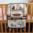 嬰兒床掛袋韓版多功能嬰兒床頭大掛袋 嬰幼兒寶寶尿布奶瓶收納袋用品整理袋 小山好物