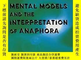 二手書博民逛書店Mental罕見Models And The Interpret