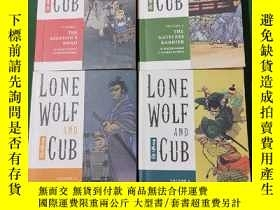 二手書博民逛書店Lone罕見Wolf and Cub 子連れ狼(帶子雄狼 改編電影《斬虎屠龍劍》)英文版 1.The Ass