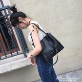 大包包簡約百搭女包手提側背包斜背大包潮女休閒包 黛尼時尚精品