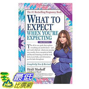 [106美國直購] 2017美國暢銷書 What to Expect When You re Expecting