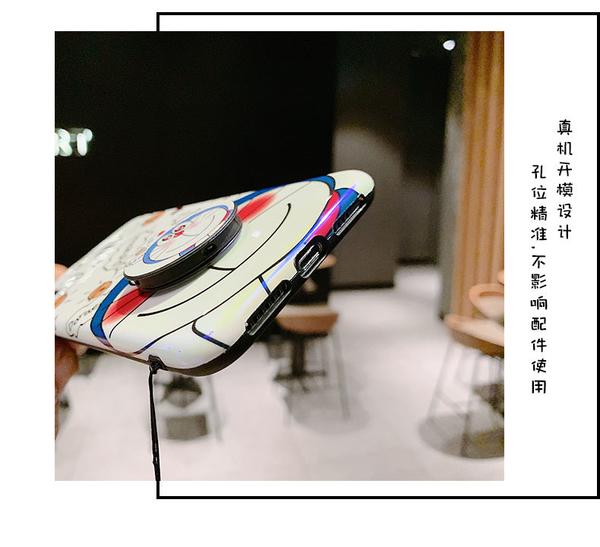 (附掛繩) 紅米Note8pro 手機殼 紅米Note7 Note5 Note6pro保護套 小米9T Pro卡通藍光殼 動畫殼