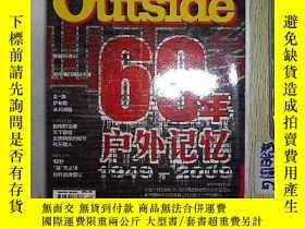 二手書博民逛書店戶外罕見Outside2009 10Y203004