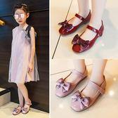 童鞋女童公主鞋韓版兒童皮鞋豆豆單鞋【南風小舖】