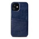 Alto iPhone 12 mini 真皮手機殼背蓋 5.4吋 Metro - 海軍藍【可加購客製雷雕】皮革保護套