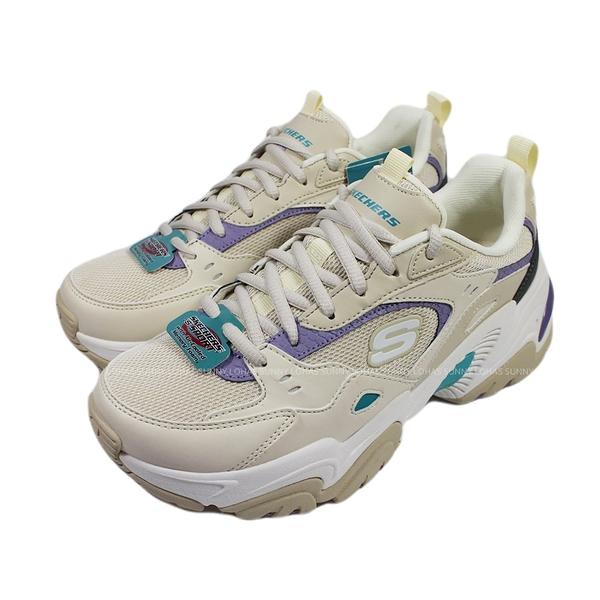 (BZ) SKECHERS 女鞋 STAMINA 2.0老爹鞋 潮鞋 厚底鞋 增高149510NTPR奶茶色 [陽光樂活]