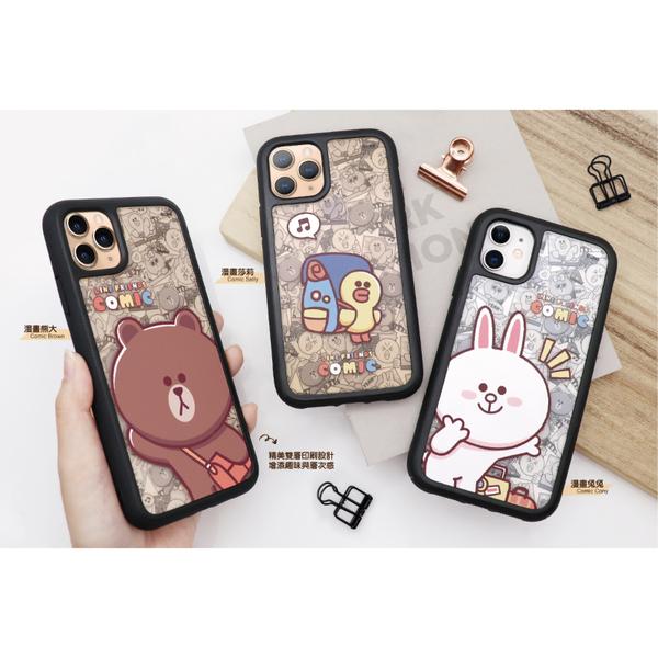 iPhone 11 LINE 雙層彩繪 防摔殼 漫畫 可愛卡通 熊大 透明 保護套 保護殼 手機殼 手機套