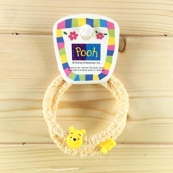 【震撼精品百貨】Winnie the Pooh 小熊維尼~2入髮帶-黃