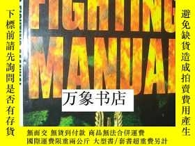 二手書博民逛書店McAleese s罕見Fighting Manual 格鬥技術手冊 精裝本帶封套 私藏品好Y2727 Pet