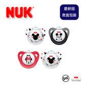 『含盒新包裝』德國【NUK】Disney Mickey Mouse系列0-6M/6-18M矽膠安撫奶嘴2入-兩款/德國製造