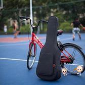 吉他包 復古民謠吉他包36/38/39/40/41寸加厚雙肩木吉他背包琴包吉他袋套T 2色