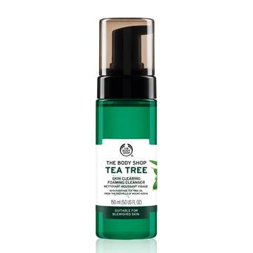 【THE BODY SHOP】天然茶樹淨膚潔面慕絲150ML