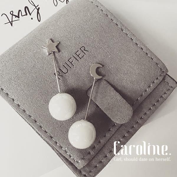 《Caroline》★韓國時尚獨家設計款優雅浪漫風格時尚流行耳環68872