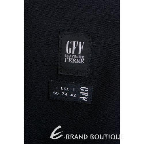 GFF 直筒休閒長褲(黑色) 0510257-01