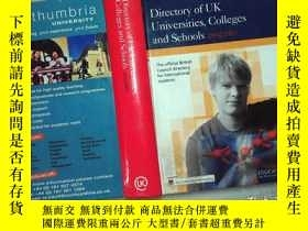 二手書博民逛書店Directory罕見of UK Universities,Colleges and Schools 2002 2