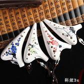 陶笛創意樂器12孔中音c調十二孔AC調手繪初學演奏陶笛 PA3638『科炫3C』