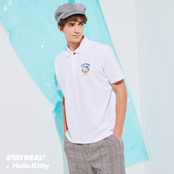 STAYREAL x HELLO KITTY 凱蒂閃耀信念POLO衫