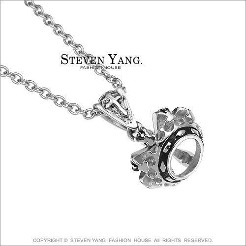 項鍊STEVEN YANG西德鋼飾 皇冠造型 街頭個性嘻哈風*單個價格*
