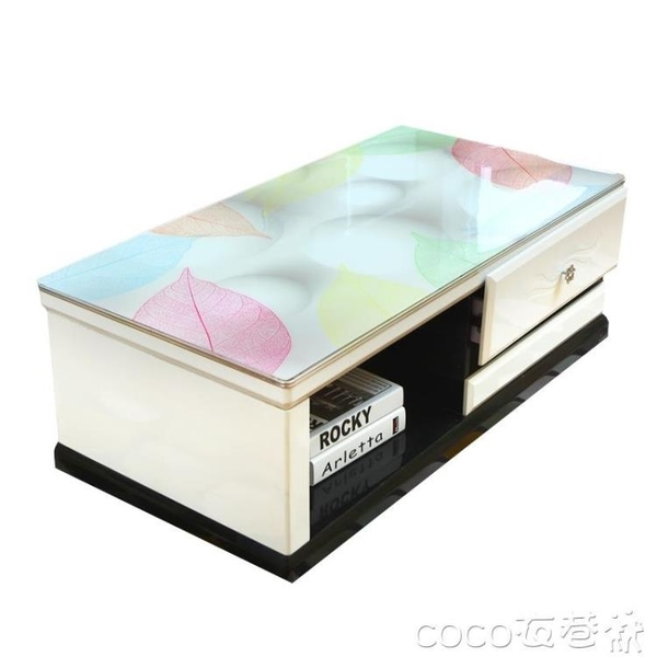 桌布茶幾桌布防水防燙歐式長方形軟塑料玻璃膠墊電視柜茶幾墊網紅桌墊 夏季上新