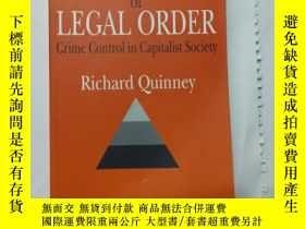 二手書博民逛書店CRITIQUE罕見OF LEGAL ORDER Crime Control in Capitalist Soci