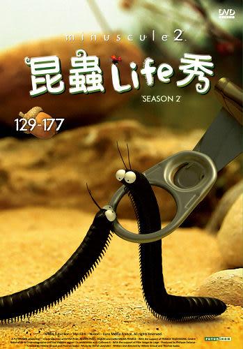 三年等待~昆蟲Life秀 第2季[129-177話] DVD - 附導讀手冊 ( minuscule 2 ) (蟲蟲物語)