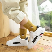 5雙組 兒童襪子純棉秋冬季棉襪寶寶保暖毛圈襪