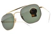 RayBan 太陽眼鏡 RB3648 001 (金-綠鏡片) 耀眼軍風款 # 金橘眼鏡