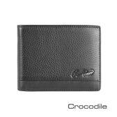 Crocodile Classic 經典系列荔紋軟皮短夾   0103-3353