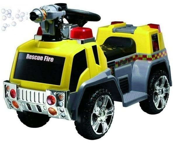 *粉粉寶貝玩具*親親-電動消防泡泡車~兒童可騎乘電動車~有音樂~會吹泡泡喔