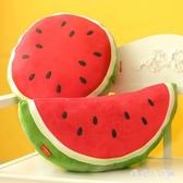 韓版可愛卡通西瓜抱枕 水果靠枕靠墊創意毛絨玩具公仔 QX8007 『愛尚生活館』