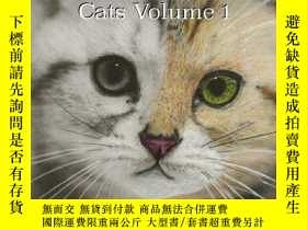 二手書博民逛書店Gray罕見to Gorgeous: Cats Vol 1: A Grayscale Coloring Book