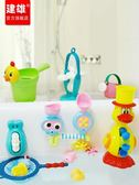 寶寶洗澡玩具玩水轉轉樂花灑兒童嬰兒浴室戲水玩具1-3歲女孩男孩 MKS薇薇