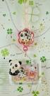 【震撼精品百貨】San-X動物家族_熊貓~手機吊飾-熊貓(相框)