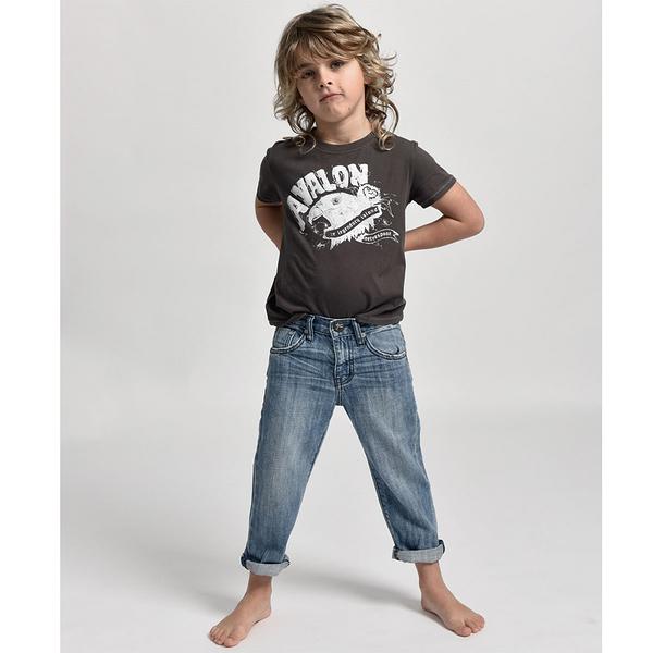 ONETEASPOON 童裝 AWE BAGGIES 牛仔褲-(藍)