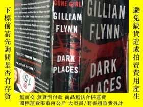 二手書博民逛書店DARK罕見PLACES(英文原版)Y7353 Cillian Flynn BROADWAY BOOKS NE