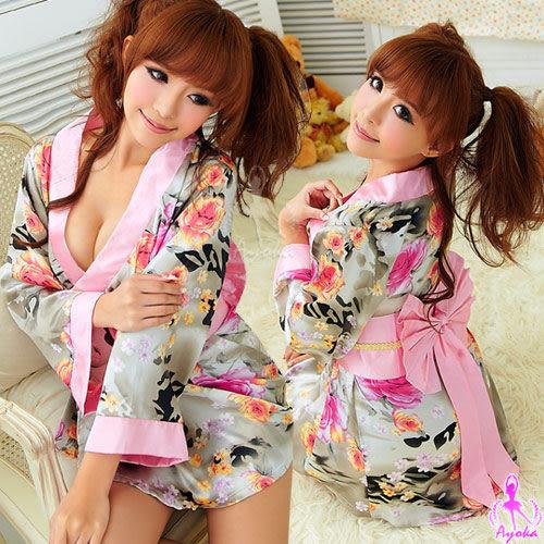 角色扮演服 浪漫繽紛!二件式絕美和服組 SEXYBABY 性感寶貝 12030121