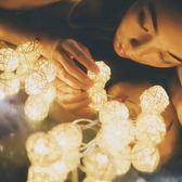 安七月藤球燈串燈房間裝飾小串燈星星燈滿天星燈閃燈串燈浪漫網紅聖誕節提前購589享85折