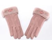 手套女秋冬季加絨保暖觸碰手套