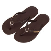 感謝有妳 Havaianas 哈瓦仕  細帶 珠光  巴西拖  沙灘拖鞋 女 HF6F2615N9 Big-O SPORTS